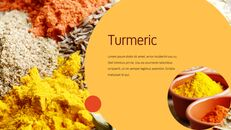 인도 요리 카레 (커리) 파워포인트 디자인_04