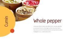 인도 요리 카레 (커리) 파워포인트 디자인_07