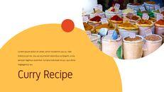 인도 요리 카레 (커리) 파워포인트 디자인_10