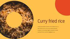 인도 요리 카레 (커리) 파워포인트 디자인_11