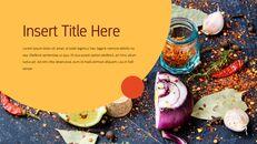 인도 요리 카레 (커리) 파워포인트 디자인_13