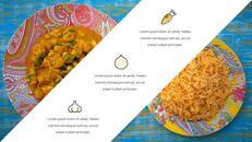인도 요리 카레 (커리) 파워포인트 디자인_14