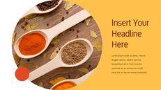 인도 요리 카레 (커리) 파워포인트 디자인_15