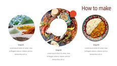 인도 요리 카레 (커리) 파워포인트 디자인_23