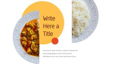 인도 요리 카레 (커리) 파워포인트 디자인_24