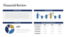Financial Review with Chart Single Deck_03