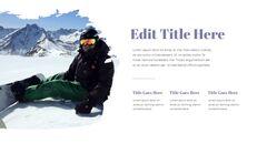 겨울 스노우 보드 파워포인트 슬라이드 디자인_14
