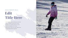 겨울 스노우 보드 파워포인트 슬라이드 디자인_20