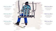 겨울 스노우 보드 파워포인트 슬라이드 디자인_22