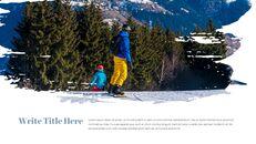 겨울 스노우 보드 파워포인트 슬라이드 디자인_23
