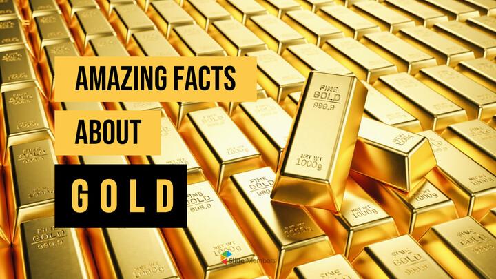 금에 대한 사실 (골드바, 금시세) PPT 프레젠테이션_01