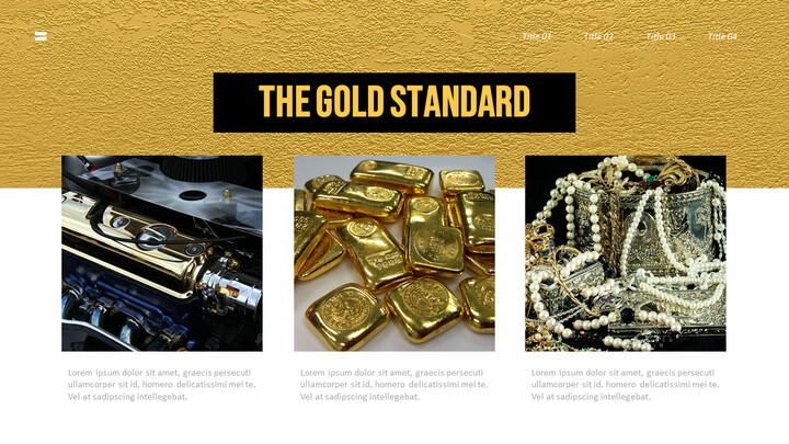 금에 대한 사실 (골드바, 금시세) PPT 프레젠테이션_02