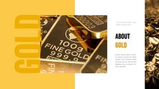 금에 대한 사실 (골드바, 금시세) PPT 프레젠테이션_04