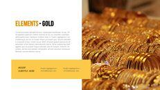 금에 대한 사실 (골드바, 금시세) PPT 프레젠테이션_14