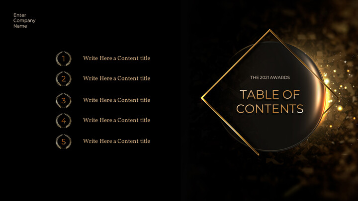 The 2021 Awards PowerPoint Table of Contents_02