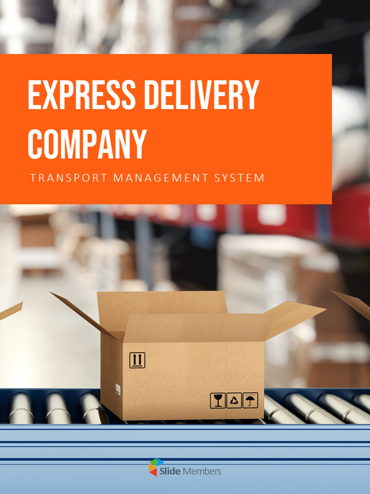 Express Delivery Company Interactive PPT_01