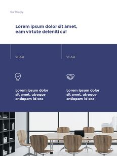 Start New Business Vertical Layout Template company profile template design_04
