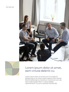 Start New Business Vertical Layout Template company profile template design_07