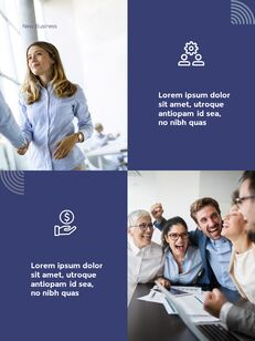 Start New Business Vertical Layout Template company profile template design_15