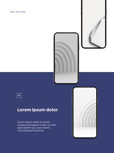Start New Business Vertical Layout Template company profile template design_17