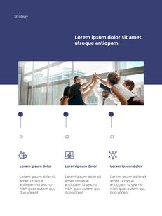 Start New Business Vertical Layout Template company profile template design_19