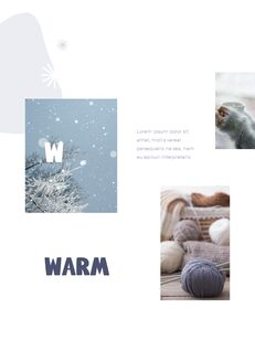 Winter Season Theme Abstract Design Template PowerPoint Format_08