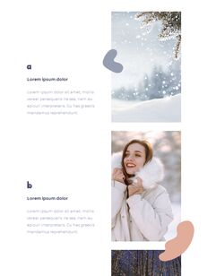 Winter Season Theme Abstract Design Template PowerPoint Format_15