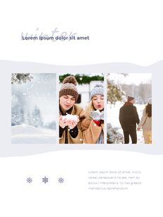 Winter Season Theme Abstract Design Template PowerPoint Format_19
