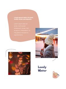 Winter Season Theme Abstract Design Template PowerPoint Format_24