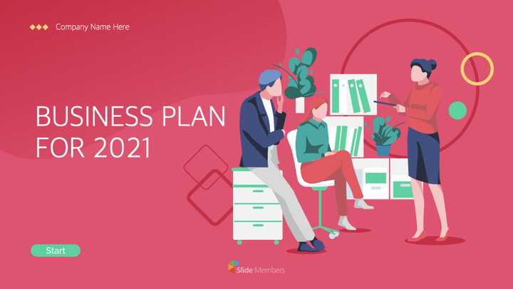 How to develop a business plan for 2021 iMac Keynote_01