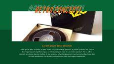 레트로 프레젠테이션용 PowerPoint 템플릿_06