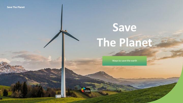 Save The Planet  간단한 디자인 템플릿_01