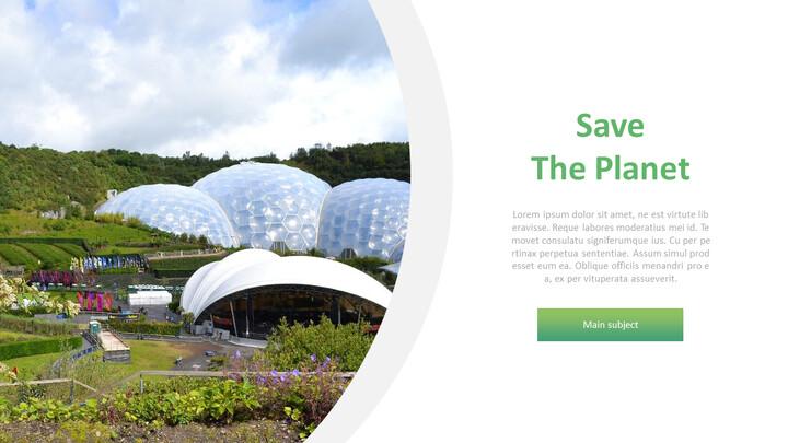 Save The Planet  간단한 디자인 템플릿_02