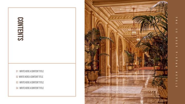 호텔 서비스 및 시설 제안 파워포인트 예제_02