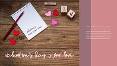 발렌타인 데이는 사랑을위한 것입니다 프리미엄 파워포인트 템플릿_03
