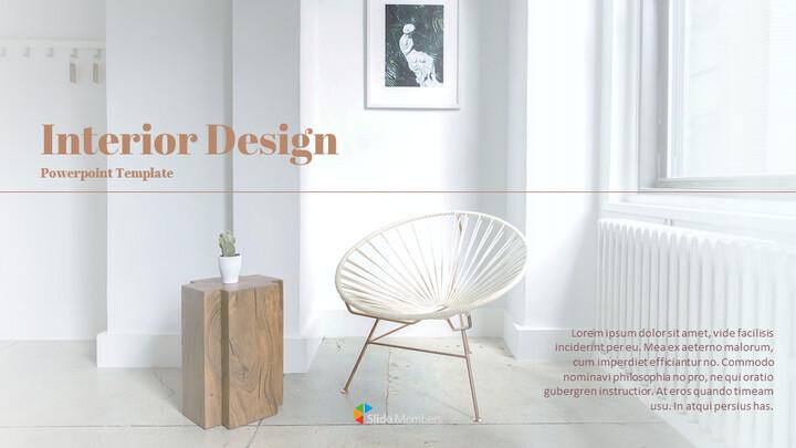 인테리어 디자인 구글슬라이드 템플릿_01