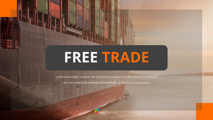 Free Trade PowerPoint Presentation Examples_01