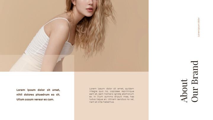 Modelli animati - Design del mazzo di presentazione del concetto di marchio_02
