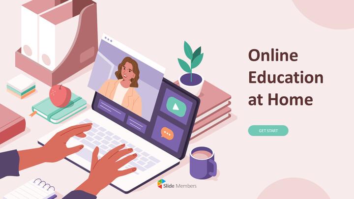 Plantillas de animación de mazos de educación en línea en casa_01
