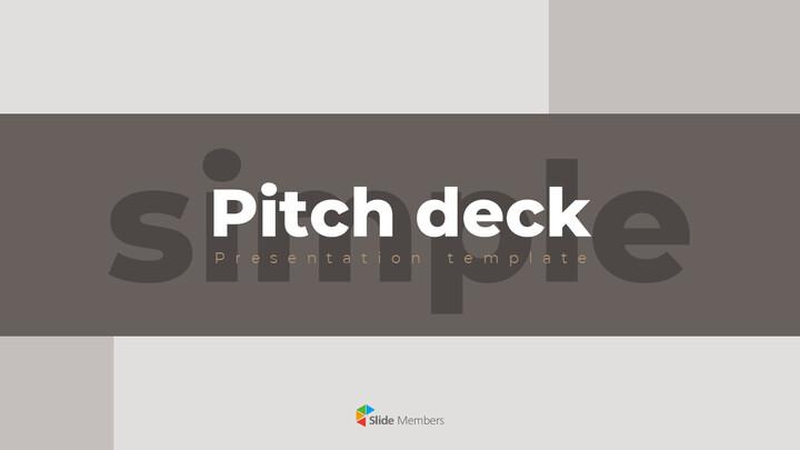 シンプルなデザインのピッチデッキパワーポイントプレゼンテーションビデオ_01