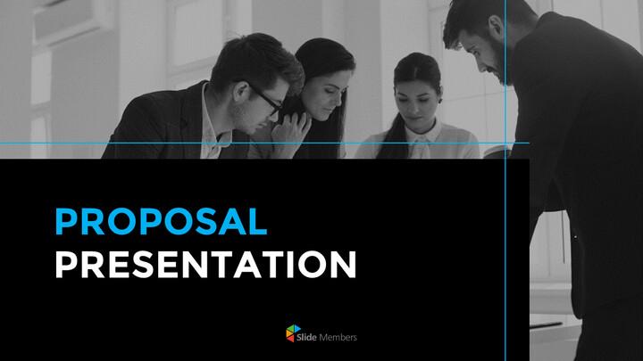 Diapositive animate di presentazione semplice proposta_01
