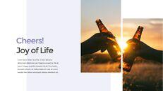 삶의 기쁨 PPT 템플릿_23