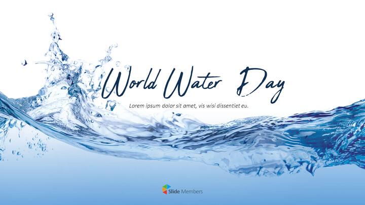 세계 물의 날 파워포인트 디자인_01
