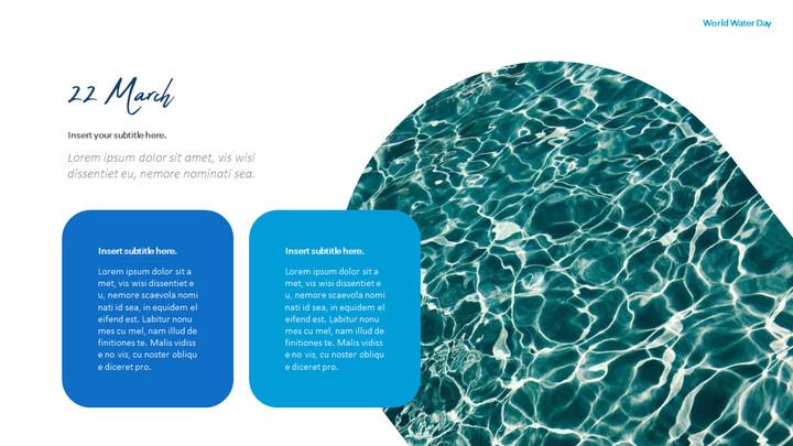 세계 물의 날 파워포인트 디자인_02