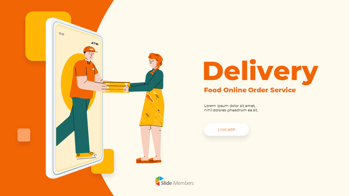 온라인 배달 서비스 피치덱 파워포인트 애니메이션 템플릿_01