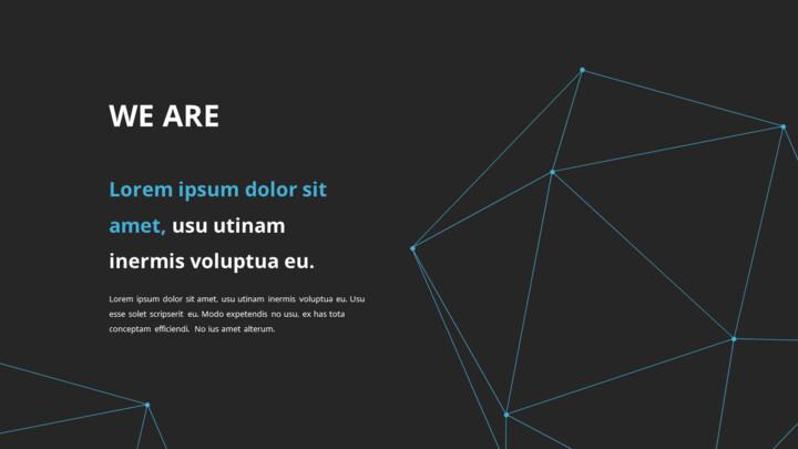 Video di presentazione PowerPoint di sfondo poligono aziendale_02