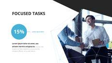 Video di presentazione PowerPoint di sfondo poligono aziendale_04