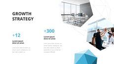 Video di presentazione PowerPoint di sfondo poligono aziendale_09