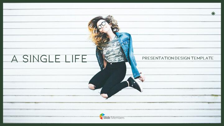 A Single Life presentation slide design_01