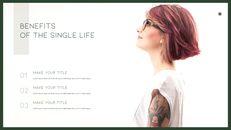 A Single Life presentation slide design_04